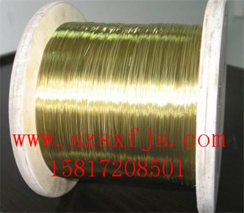 南京直销H95 C26000软态黄铜线 耐腐蚀