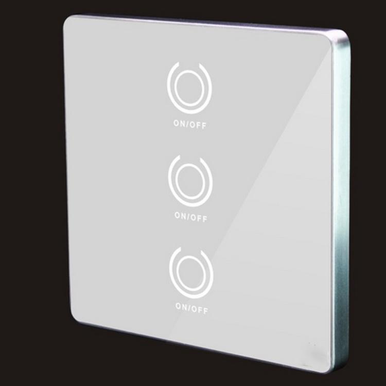 LED灯具墙壁智能遥控触摸感应开关方案