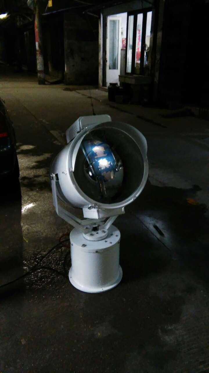 360度遥控自动防爆探照灯 1000W大功率船用灯厂家