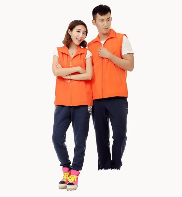 情侣装亿诚制服YCMJ-001志愿者马甲男女通用义工团体广告活动宣传背心免费印字