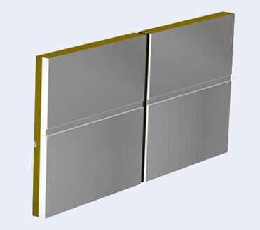 钢板岩棉夹芯复合板