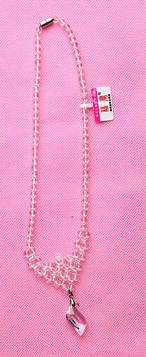 福宝天然白水晶新款项链