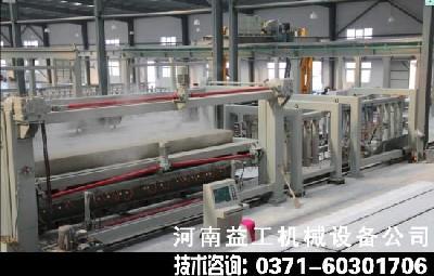 河南益工加气混凝土切割设备生产工艺先进技术超前