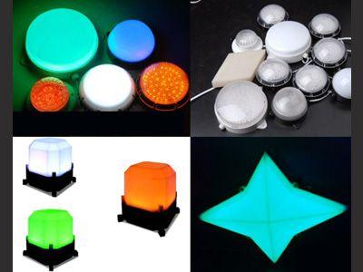 方形LED点光源,LED外控80点光源,LED内控点光源