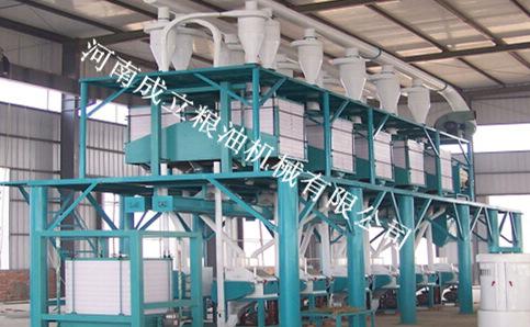 成立机械供应精粉加工设备生产线玉米精加工设备
