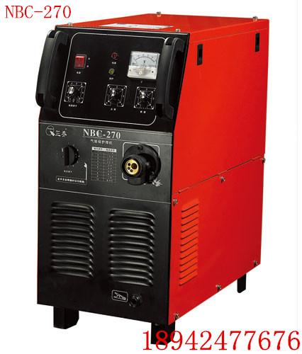 无锡抽头式二保焊机MIG-270一体机