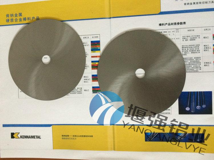 美国肯纳钨钢圆刀片 进口高韧性钨钢cd-650.进口钨钢厂家