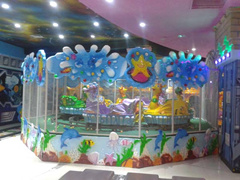 海洋喷球车 公园玩具 儿童游乐设备
