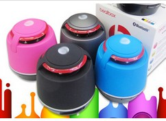蓝牙插卡音箱 小钢炮音响带免提通话MP3播放器低音炮