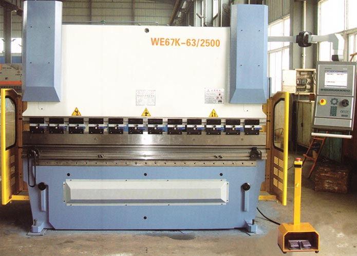 三明销售WC67Y-40T/2500液压数控折弯机