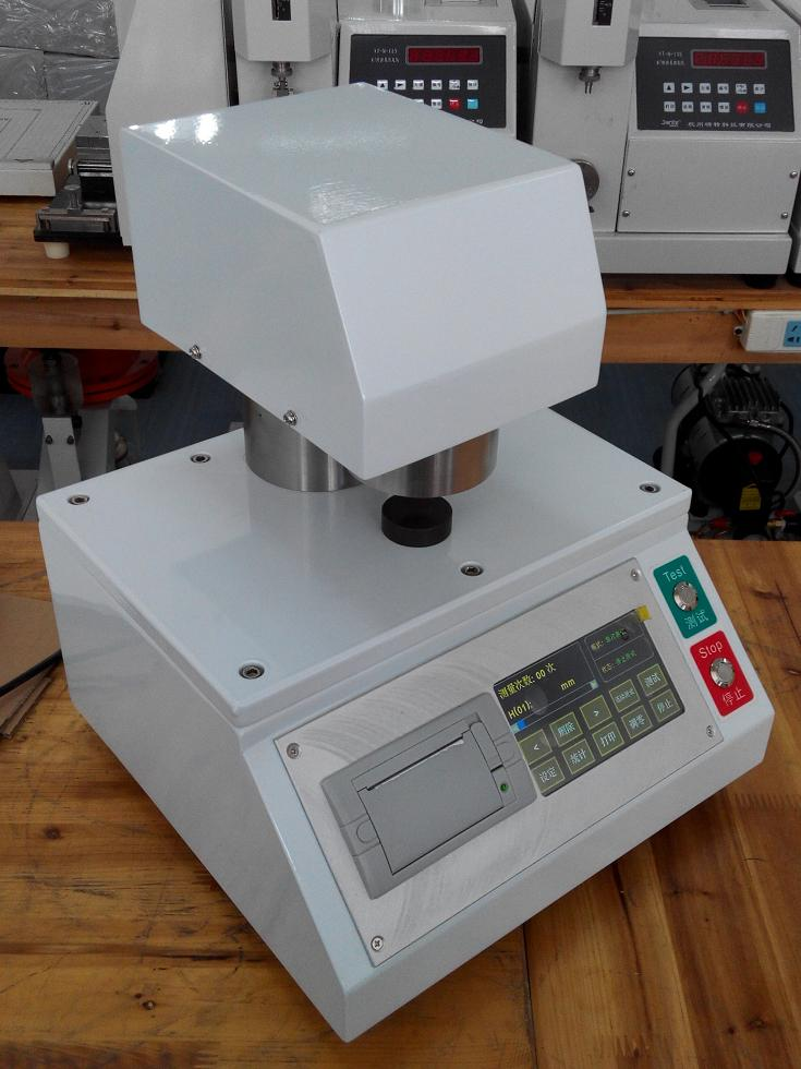 电脑测控纸张测厚仪