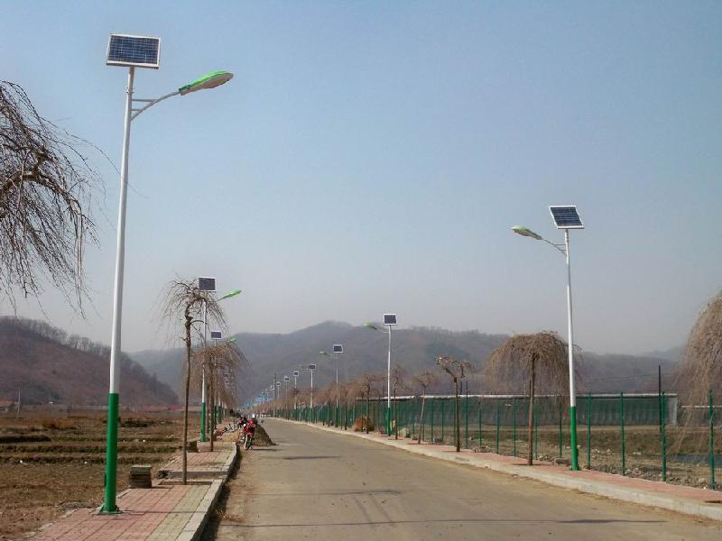 安徽建设美好乡村太阳能路灯