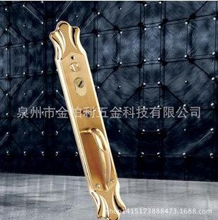 不锈钢豪华大门锁 型号8080钛金