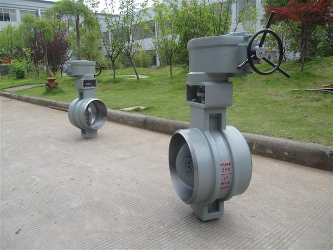 D363H-300LB/涡轮焊接蝶阀D363H