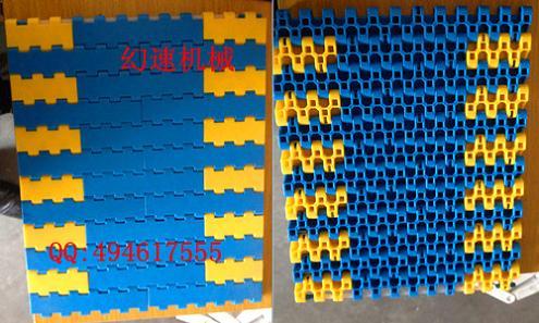 瓦楞纸塑料网带