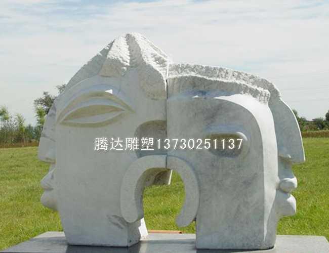石雕抽象雕塑
