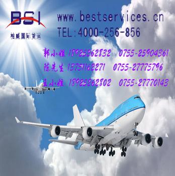 汽车配件从青岛出口到阿富汗快递空运价格 汽车配件出口货运 阿富汗