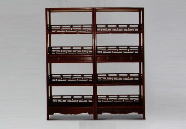 京好轩古典家具:069书架