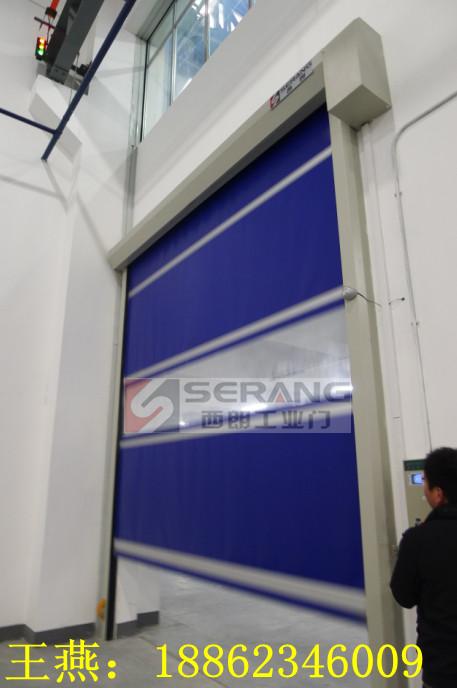 上海工业滑升门/上海快速提升门厂家