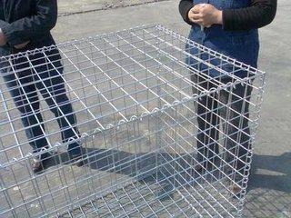 广州厂家订做重型六角网 防御石笼网 高锌石笼网
