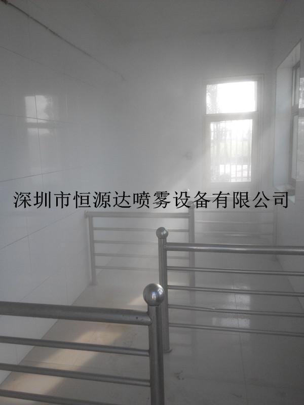 雾化智能养殖场人员消毒通道设备
