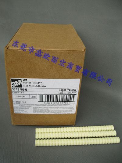 现货供应3M 3748voQ热熔胶条|满足UL 1419的要求