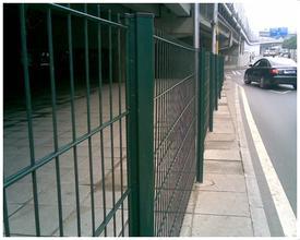 供应安平盛朗浸塑喷塑护栏网,PVC市政工艺护栏网,铁艺护栏网