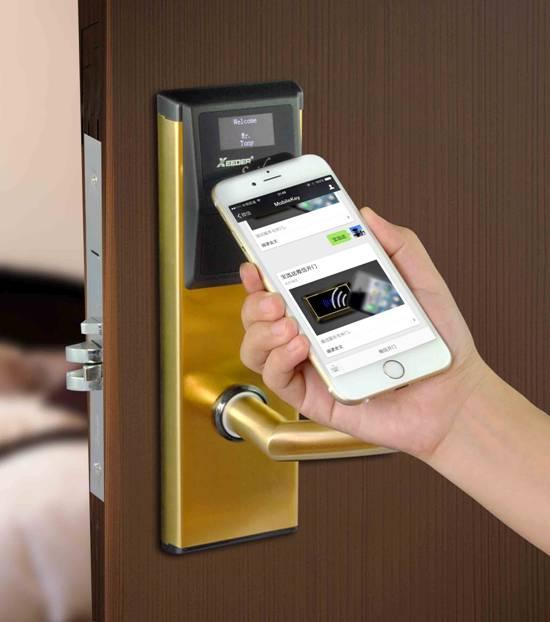 国内第一款酒店门锁微信门锁诚招湖南各地代理加盟