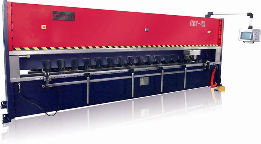数控钣金V槽刨床 数控金属薄板刨槽机