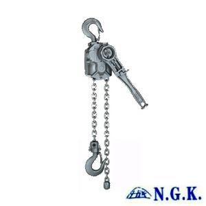 NGK铝合金手扳葫芦4吨|日本P4000电力专用紧线器