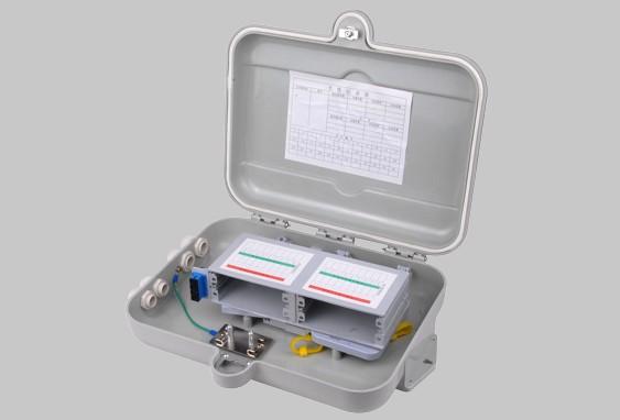 1分16SMC光缆分纤箱,室外光分路器配线箱,SMC分纤箱