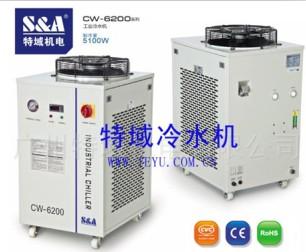 牛仔激光洗水机专用冷水机,特域水循环冷却系统