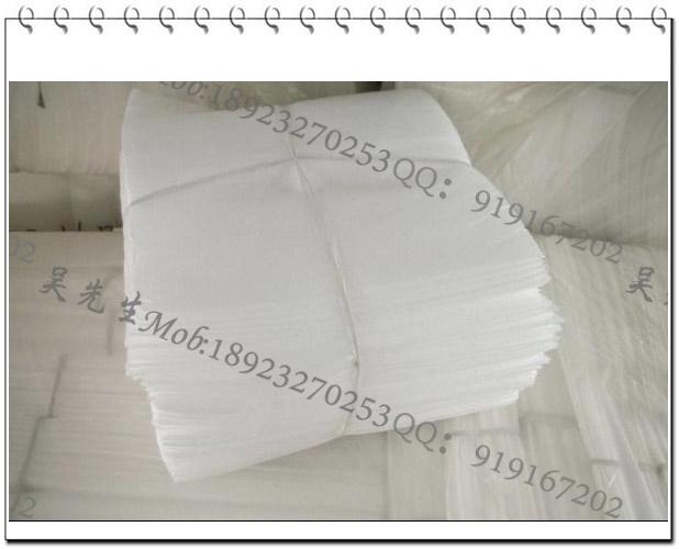 佛山EPE珍珠棉裁片裁条冲型填充