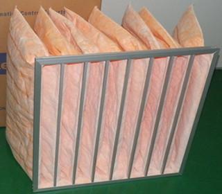 中效玻纤袋式空气过滤器