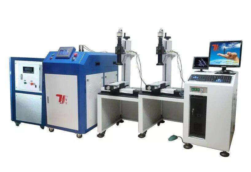 双工位同时焊或轮流焊 台谊光纤激光焊接机来袭