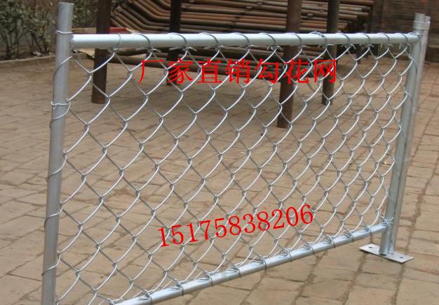 优质铁丝网挂网菱形网山坡用网镀锌勾花网钢丝焊接网