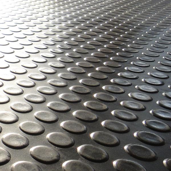 供应 圆扣防滑橡胶板