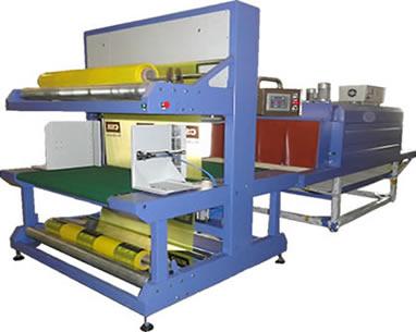 岩棉板收缩套膜包装机找鲁佳自动化