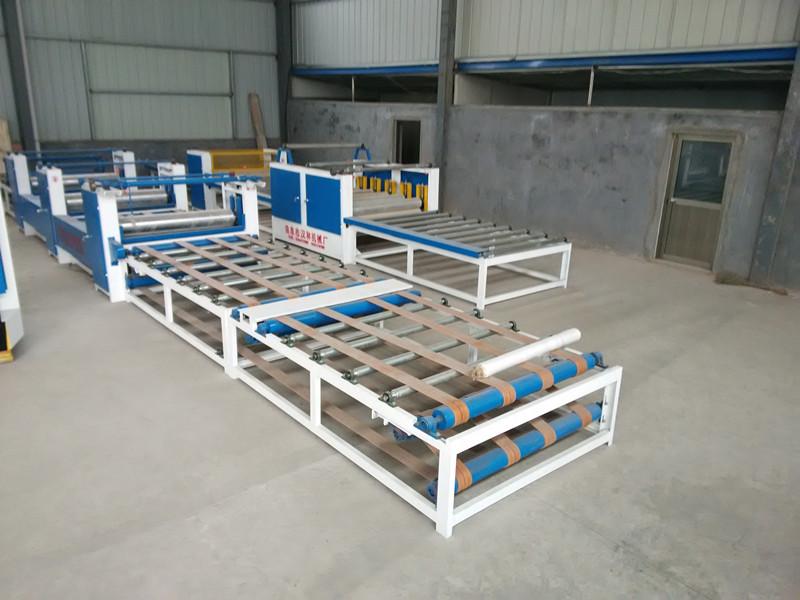 厂家供应汉林秸秆板制板机,三防板设备