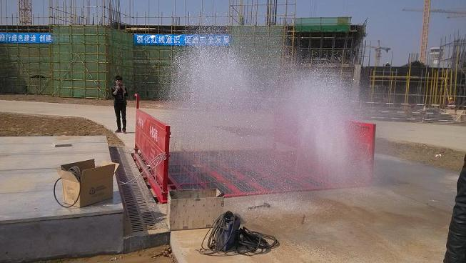 重庆成都工地自动冲洗设备-洗车机