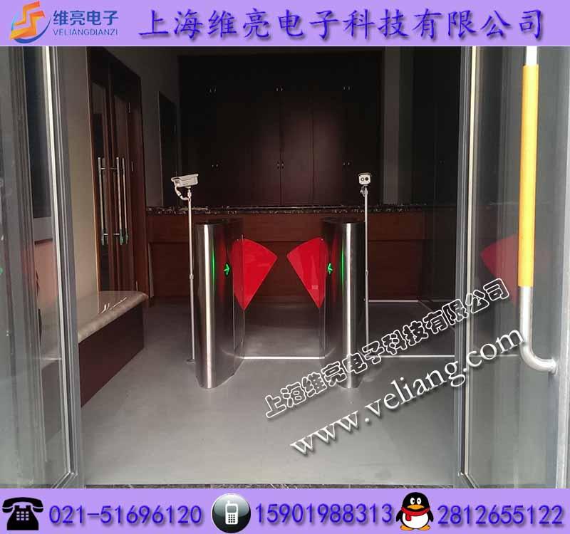 上海校园刷卡进出翼闸,幼儿园门禁刷卡拍照翼闸