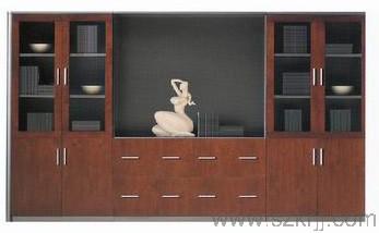 深圳淘美居时尚家居之办公家具系列实木文件柜