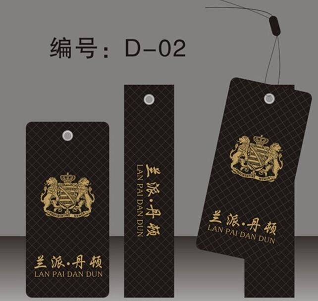福州厦门直销服装吊牌 服装吊牌设计  服装吊牌材质