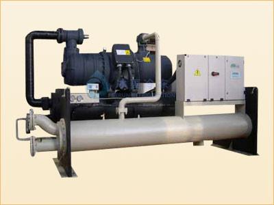 冰菱螺杆式水源热泵机组无需冷却塔 环保高效