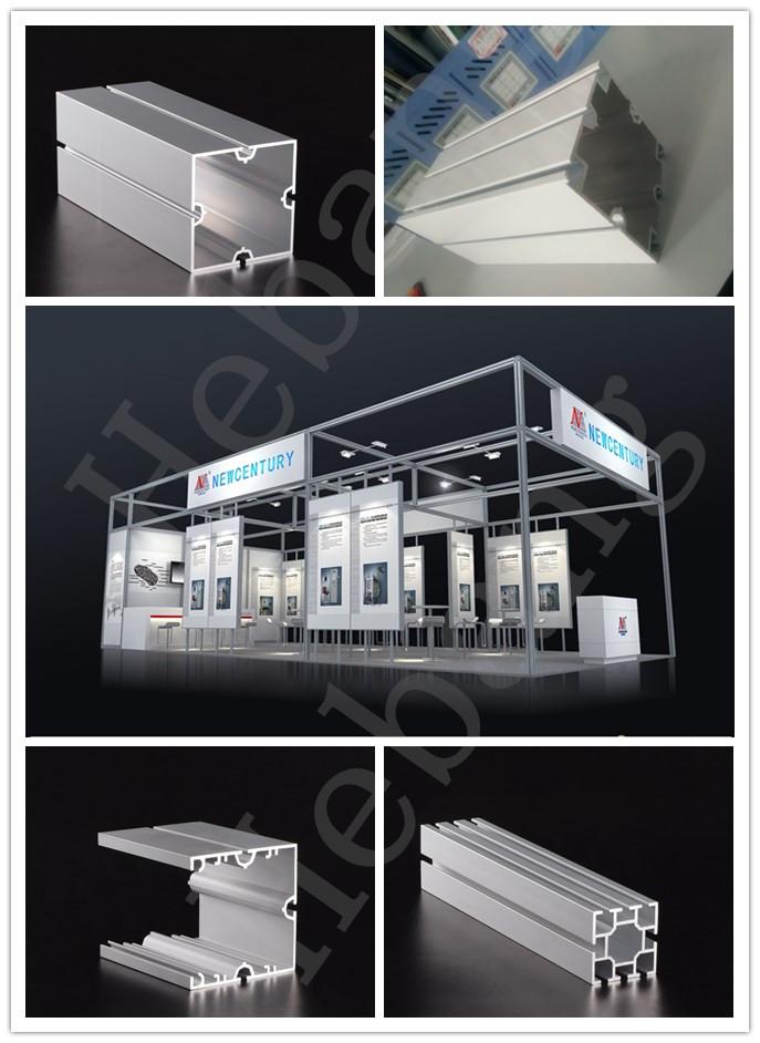广交会环保铝料 合邦方柱 方通铝材