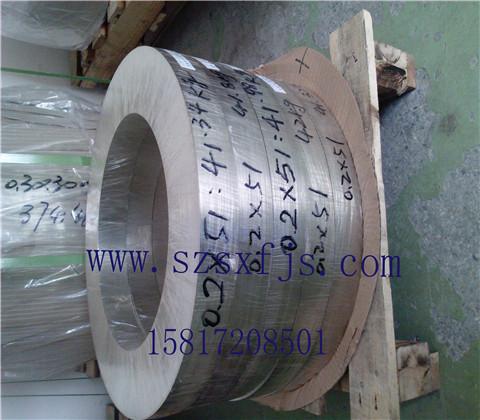 厂家促销C7521耐腐蚀洋白铜带 质量可靠规格齐全