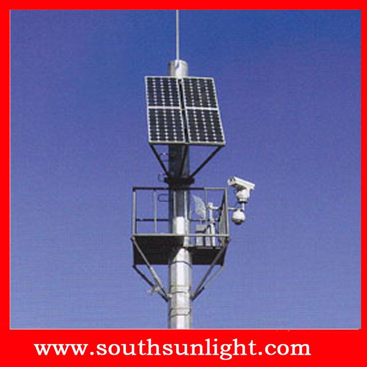 太阳能路灯供电监控发电系统