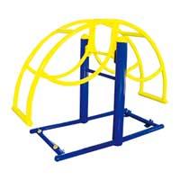 西安户外健身器材户外路径立式跷跷板
