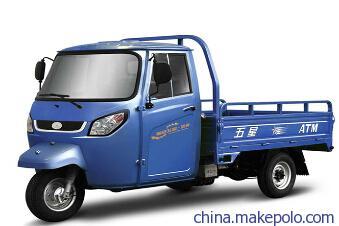 河南省福田五星单缸三轮摩托车 双缸水冷摩托车 电动摩托车厂家
