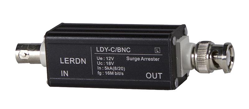 亿纵铝壳BNC视频信号防雷器